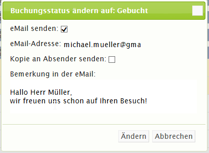 eMail-Bearbeitung